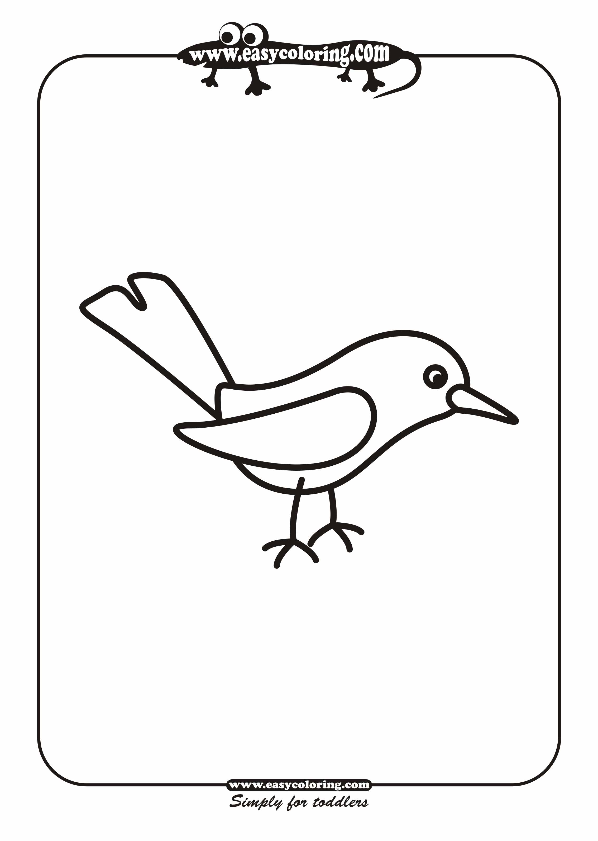 Simple Alphabet Coloring Pages For Toddlers Simple Best