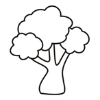 Tree Eleven - Easy coloring trees